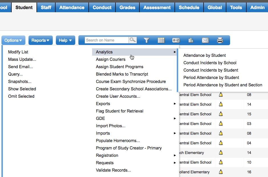 analytics-menu